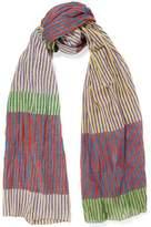 Tomas Maier Striped Cotton Scarf