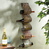 Astoria Grand Barbury 5 Bottle Wall Mounted Wine Rack