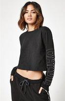Calvin Klein Cropped Long Sleeve T-Shirt