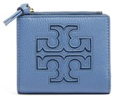 Tory Burch Women's 'Mini Harper' Leather Wallet - Black