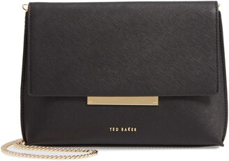 Ted Baker Harlew Leather Crossbody Bag