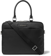WANT Les Essentiels Haneda Leather-trimmed Nylon Briefcase - Black