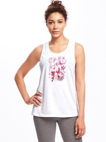 Old Navy Go-Dry Twist-Back Tank for Women