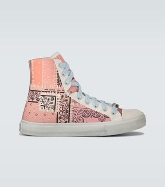 Amiri Bandana Reconstructed Sunset sneakers