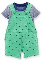 Carter's Baby Boys' 2 Piece Print Shortall Set (Baby) - 18 Months