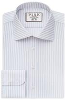 Thomas Pink Zetland Dot Regular Fit Dress Shirt