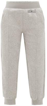 adidas by Stella McCartney Performance Essentials Cotton Blend Track Pants - Womens - Grey