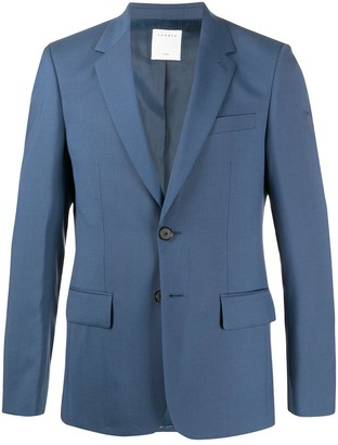 Sandro Paris fitted single breasted blazer