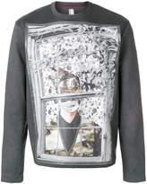 Antonio Marras central motif sweatshirt