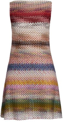 Missoni Chevron & Polka Dot Shift Dress
