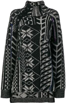 Yohji Yamamoto Pattern Embellished Sweater