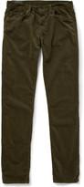 J Brand Tyler Straight-Fit Velvet Jeans