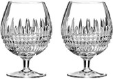 Waterford Lismore Diamond Brandy Glasses - Set of 2