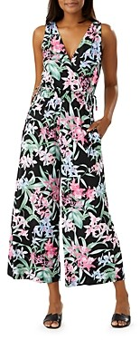Tommy Bahama Orchid Isle Floral Print Jumpsuit