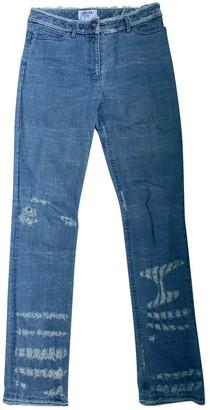 Chanel Blue Denim - Jeans Jeans