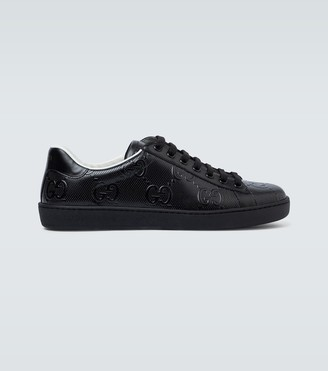 Gucci Ace GG embossed sneakers