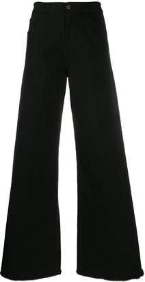 L'Autre Chose high-waisted wide leg trousers
