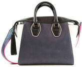 Sam Edelman Jodie Tote Leather and Faux Leather Satchel
