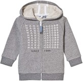 Little Marc Jacobs Grey Branded Hoody