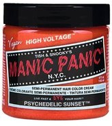 Manic Panic Hair Dye Classic Cream Color Psychedelic Sunset Orange Semi-Permanent Formula by BEAUTY