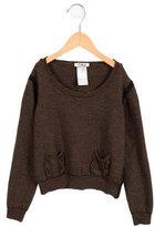 Chloé Girls' Wool Long Sleeve Sweater