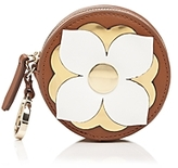 Etienne Aigner Round Leather Coin Case