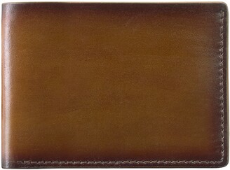 Johnston & Murphy Slim Leather Wallet