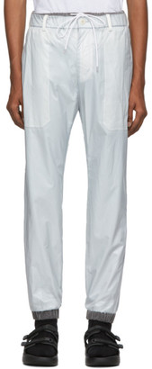 Sacai Grey Nylon Lounge Pants
