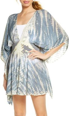 Surf.Gypsy Tie Dye Cover-Up Minidress