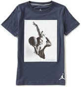 Jordan Big Boys 8-20 Flight Heritage Short-Sleeve Tee