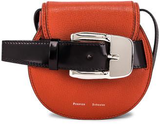 Proenza Schouler Mini Buckle Crossbody Bag in Cedar   FWRD