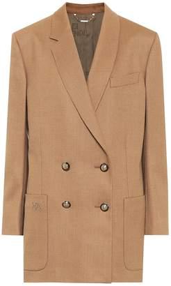 Fendi Stretch-wool blazer