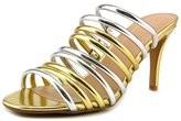 Thalia Sodi Imelda Women US 7 Gold Sandals