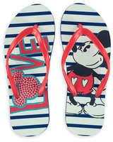 Disney Mickey Mouse Love Flip Flops - Adults