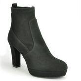 275 Central - 2568 - Suede Heeled Ankle Boot