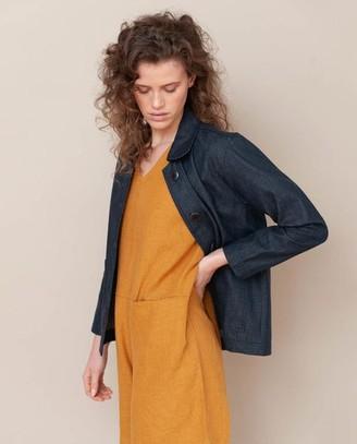 Beaumont Organic Sharon Dee Organic Cotton Jacket In Denim - Denim / Medium