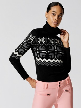 Perfect Moment Nordic Turtle-Neck Sweater