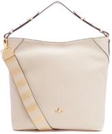 Vivienne Westwood Women's Belgravia Hobo Leather Bag Beige