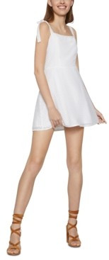 BCBGeneration Tie-Strap A-Line Dress