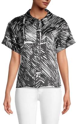 Milly Printed Camper Shirt