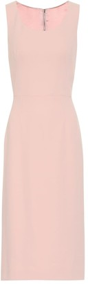 Dolce & Gabbana Cady-crApe midi dress