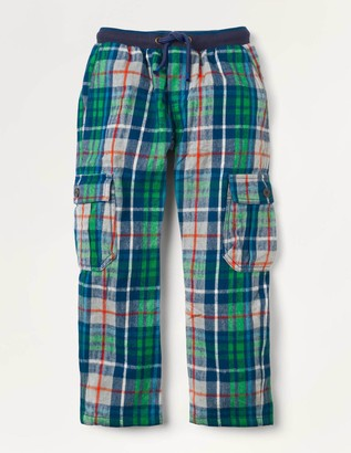 Boden Brushed Cotton Cargo Pants