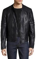 Diesel Black Gold Lichant Leather Racer Jacket
