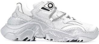 No.21 oversized sole glitter Billy sneakers