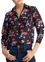 Lauren Ralph Lauren Floral-Print Button-Down Top