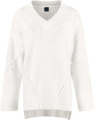 Pinko Mozambico Fringed Sweater