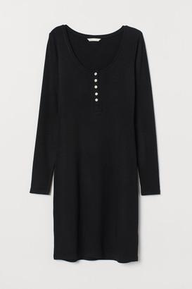 H&M Viscose jersey dress