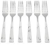 Oneida Arc Sculpted Stainless Steel Salad Forks, Set of 6