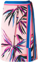 Emilio Pucci palm trees print skirt - women - Silk/Viscose - 42