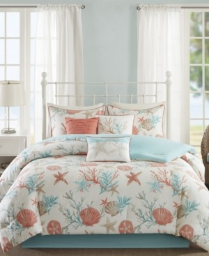 Madison Home USA Pebble Beach 7-Pc. Queen Comforter Set Bedding